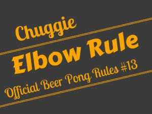 Beer Pong Elbow Rule