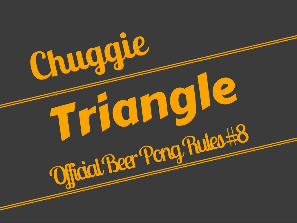 Beer Pong Triangle Rule