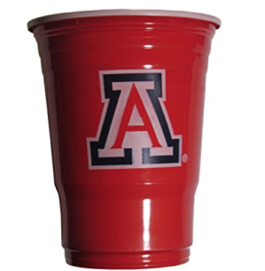 Arizona Wildcats Beer Pong Cups