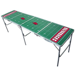 Arkansas Razorbacks Beer Pong Table