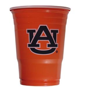 Auburn Tigers Beer Pong Cups