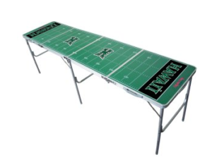 Hawaii Rainbow Warriors Beer Pong Table