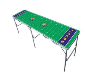 Louisiana State Tigers Beer Pong Table