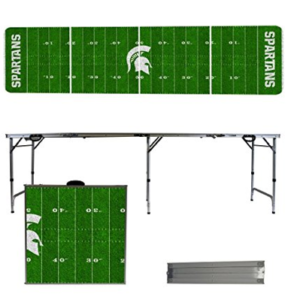 Michigan State Spartans Beer Pong Table