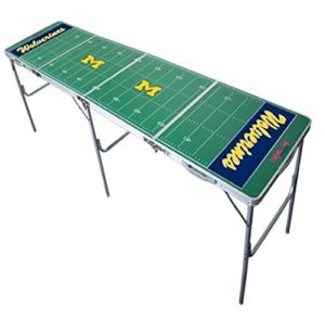 Michigan Wolverines Beer Pong Table