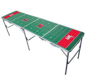 Nebraska Cornhuskers Beer Pong Table