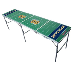 Notre Dame Fighting Irish Beer Pong Table