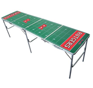 Rutgers Scarlet Knights Beer Pong Table