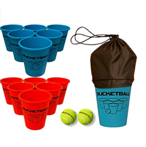 The Best Giant Beer Pong Game With Life Size Cups And Balls Bucketball Pong