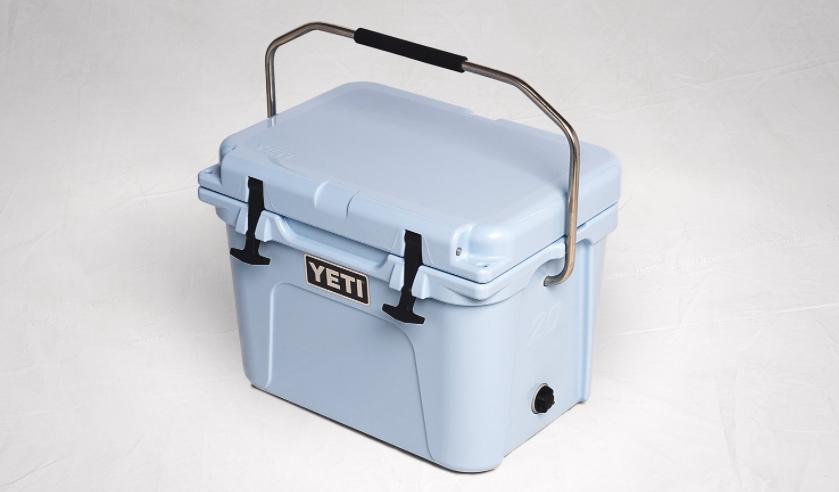 Yeti Roadie 20 Quart Cooler Feature Blue