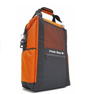 Best Beach Cooler Reviews Polar Bear Coolers Nylon Series Backpack Orange