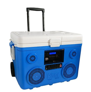 Best Cooler With Speakers TUNES2GO CA-E065A KoolMAX Bluetooth 350-Watt Portable PA Speaker