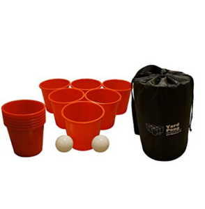 iant Beer Pong Game With Life Size Cups And Balls Giant Yard Pong