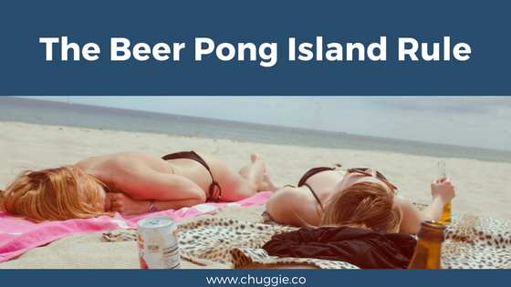 How to Play Beer Pong Island Rule