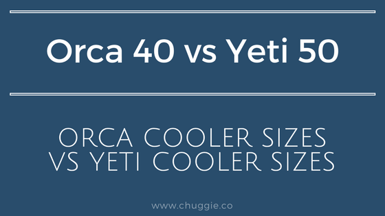 40 Quart Orca vs Yeti Tundra 50 Cooler