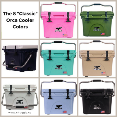 Yeti Cooler Sizes vs Orca Cooler Sizes
