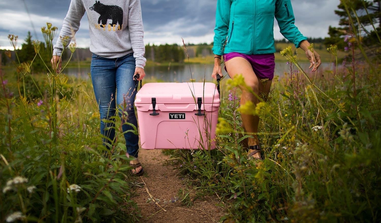 Pink Yeti Cooler 2018
